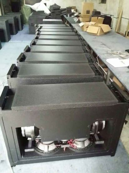"Kf760 Dual 12"" Three-Way High Power Line Array System for Concert (1800W RMS) pictures & photos"