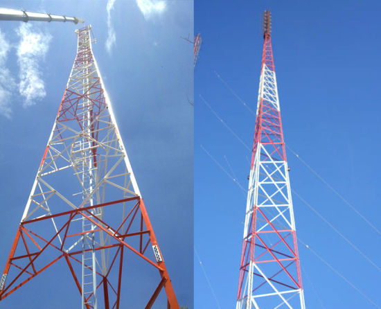 Hot DIP Galvanized Communication Angle Steel Tower pictures & photos