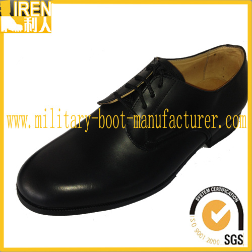 New Design Best Black Genuine Leather Waterproof Military Office Boot