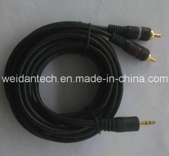 High Quality AV Cable for DVD Connection pictures & photos