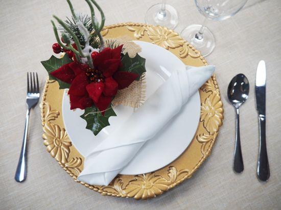 China Christmas 13 Inch Flower Plastic Plates for Pretty Dinnerware ...