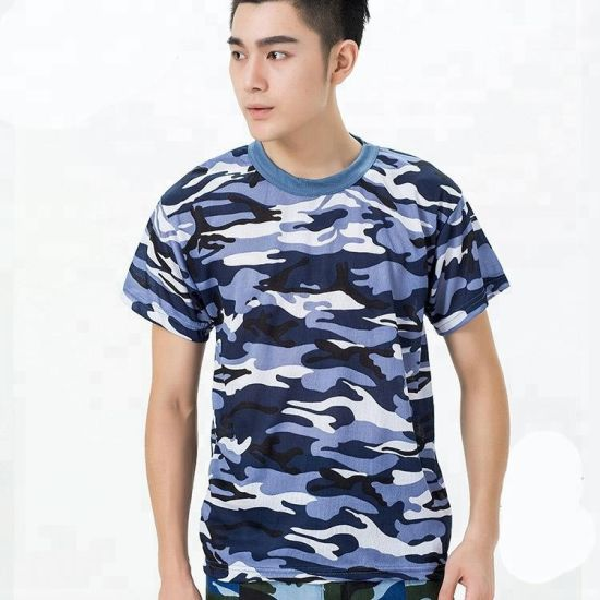 China Full Print T Shirt Camo All Over Sublimation Printing