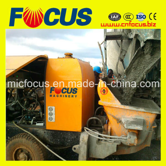 20-80m3/H Electric or Diesel Stationary Concrete Pump for Building Construction pictures & photos