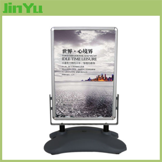 Outdoor Snap Frame Poster Stand with Waterbase pictures & photos