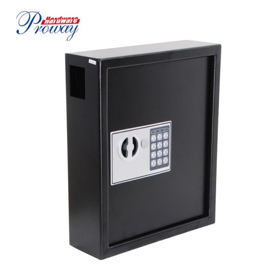 China Professional Heavy Duty Key Safe Box Wall Mount Key Cabinet with Electronic Lock Steel Construction