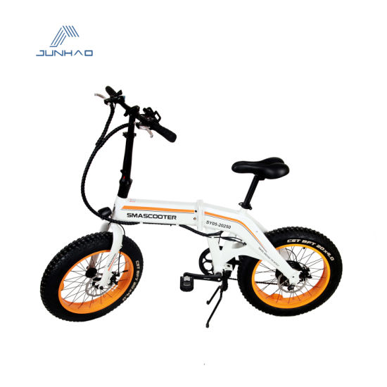 48V City Electric Foldable Bicycle Wholesale with Rear Hub Drive
