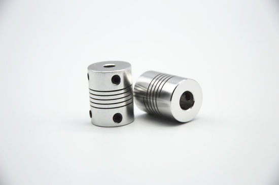 2pcs 6x12mm CNC Motor Jaw Shaft Coupler 6mm To 12mm Flexible Coupling OD 25x30mm