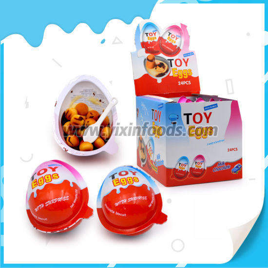 Hot Toy Egg Candy Chocolate Biscuit