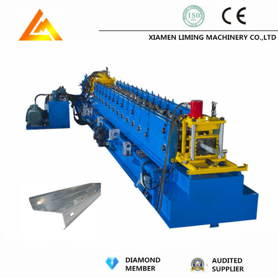 Hydraulic Cutting Steel Profile Channel Shape Metal Z Purlin Z Channel Roll Forming Machine Factory Price with ISO9001/Ce