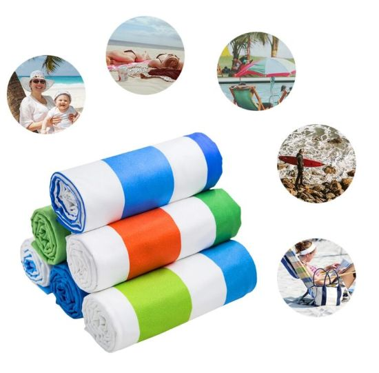 Quick Dry Custom Printed Golf Exercise Water Absorbent Beach Towel Travel pictures & photos