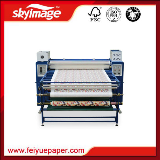 200*1200mm Rotary Drum Transfer Machine Chinese Manufacturer for Digital Fabric Printing