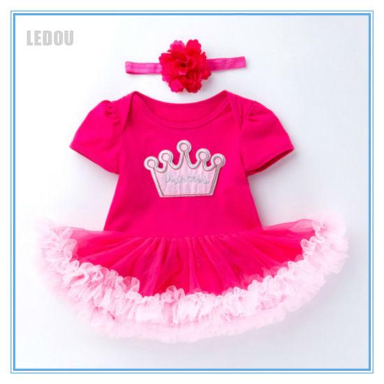 Baby Girls Princess Tutu Skirt Toddler Ballet Dance Birthday Party Mini Dresses