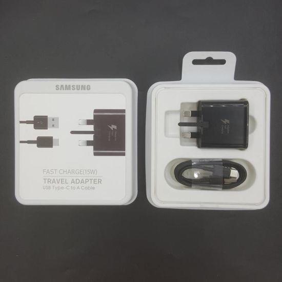 Original Phone USB Charger for Samsung S8/9/10 UK 3 Pin Charger Adapter