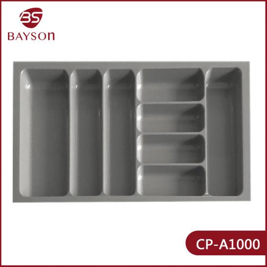 Cp-A1000 Flatware Cutlery Tray Storage Organizer Drawer Kitchen Silverware Holder Utensil