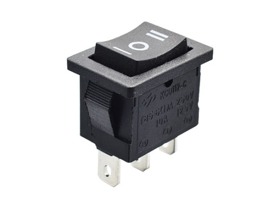 Kcd11 3 Pin Rocket Switch for Momentary Switch Supplier