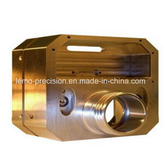CNC Precision Metal Parts Made of Brass for Automation Industry (LM-0356A)