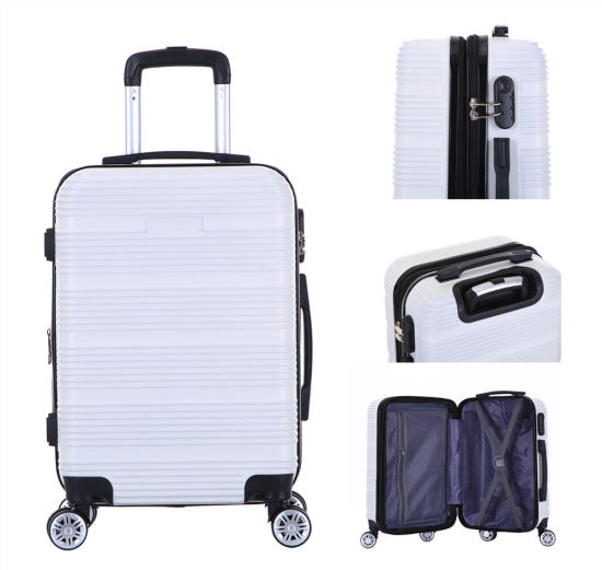 2019 New Design Expander Zipper Luggage Trolley Travel Bags Luggage 3 PCS Set Suitcase Many Colors Case-Xha157