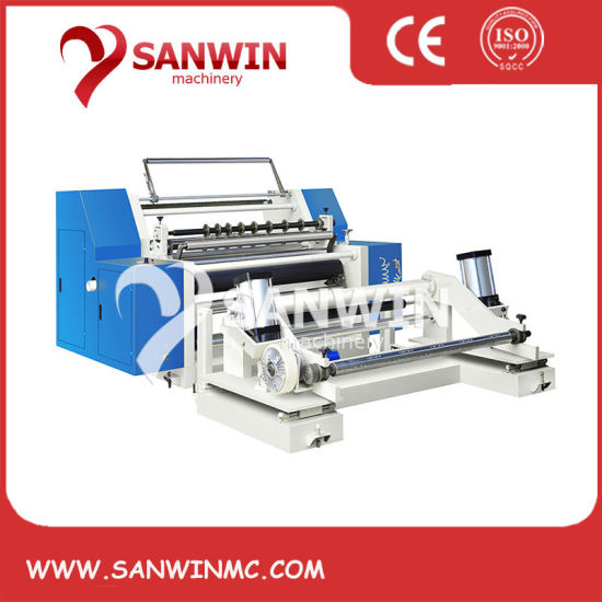 Computer Controlled High Speed Slitting and Rewinding Machine