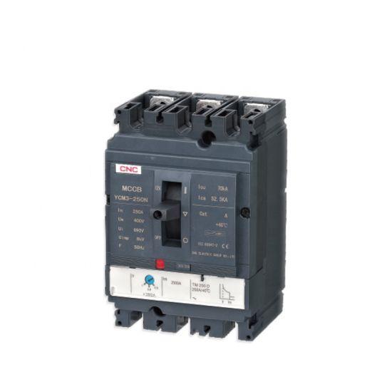 Factory Direct Selling Ycm3 Series 1600A Moulded Case Circuit Breaker 3p 4p AC 50Hz MCCB Circuit Breaker