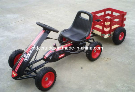 Pass CE Certificate Kids Pedal Go Kart (with a Trailer) pictures & photos