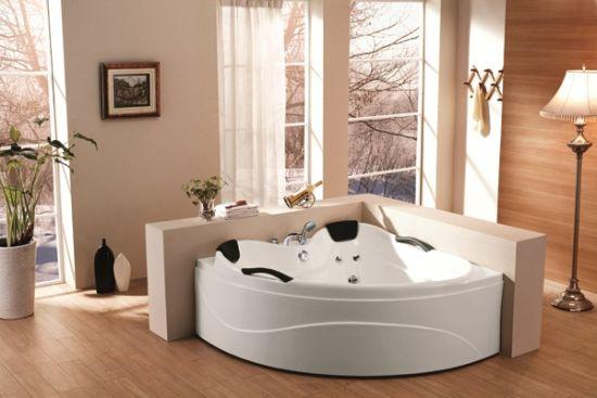 1.5 Meters 2 Person Indoor Corner Best Acrylic Bathtubs