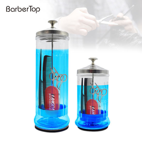 The Glass of New Hairdressing Tool Disinfects Stainless Steel Bottle