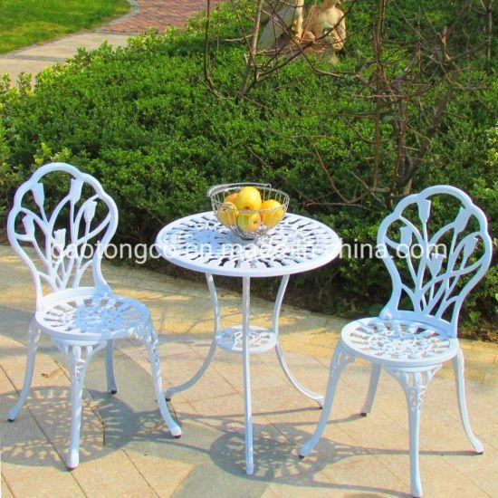 Apartment Patio Outdoor Metal Furniture Garden Sets