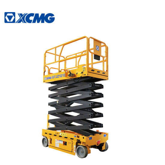 XCMG Official 12m Ce and ISO Certificate Mobile Scissor Lift Platform
