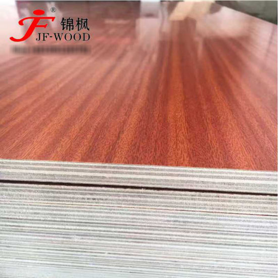 2019 Factory Directly Sale High Gloss Embossed School Furnitures Melamine China Nigeria HDF Plywood Board