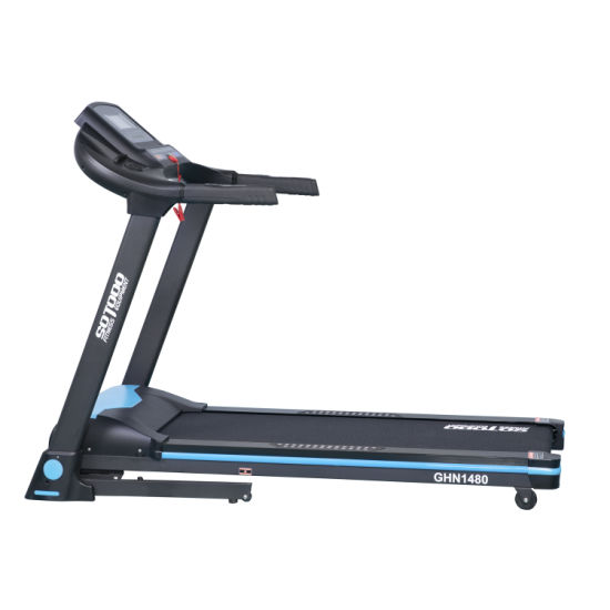 Home Fitness Foldable DC/AC Motor Motorized Treadmill for Home Workout