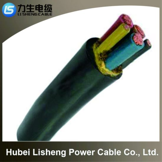 0.6/1kv Metal Core PVC Insulated Steel Tape Armored PVC Sheathed Fire-Resistant Control Cable (N-VV22 1*10)