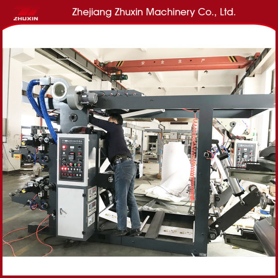 Hot Selling Four Color Printing Machine with Accurate Color Register