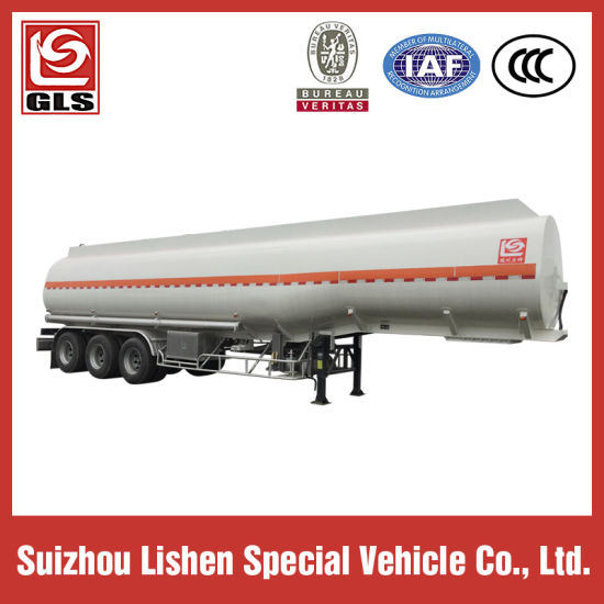 Low Price 6 Compartments Oil Tanker Semi Trailer 45000L pictures & photos