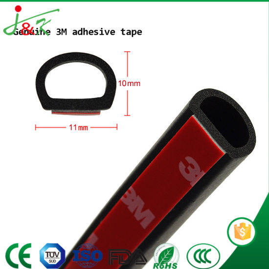 EPDM Rubber Door Seals with Steel Wire Core for Automobile pictures & photos