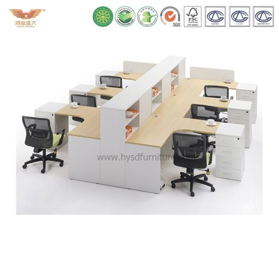 China Clic Green Mdf Office Desk Workstations Modular Design