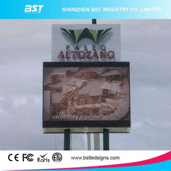P8 SMD 3535 Outdoor Advertising LED Display Screen with 140° View Angle