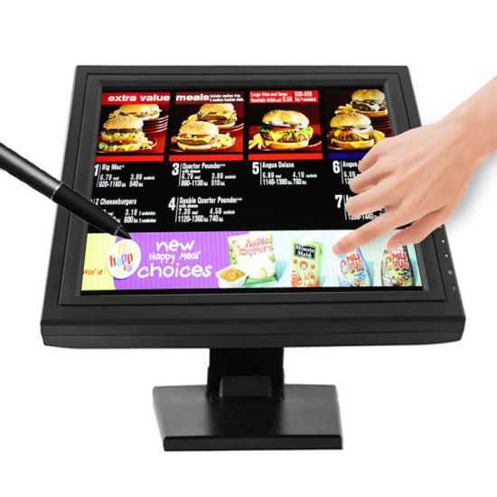 "10.1 Inch 12"" LCD Square Resistive Touch Screen Panel USB Monitor"