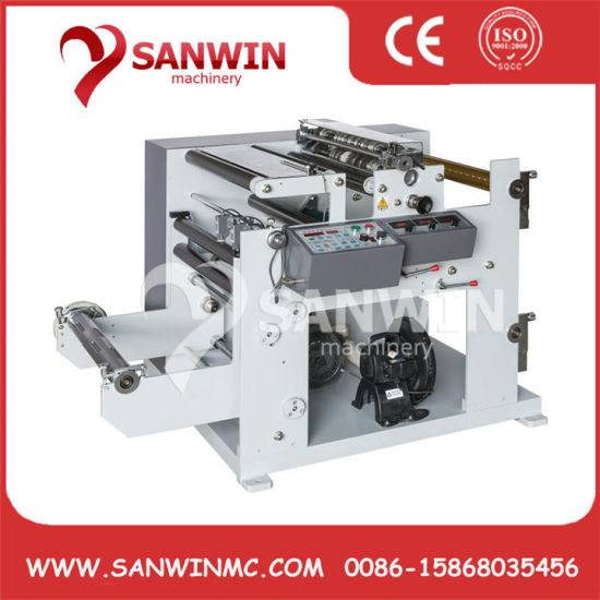 Paper Roll Slitter Rewinder Thermal Paper Slitting Machinery
