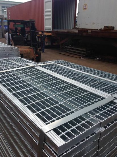 Hot DIP Galvanized Grating Steel pictures & photos