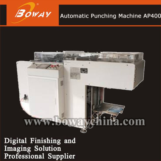 Ap400 Automatic Hole Puncher Punching Machine for Wire Book Binding pictures & photos