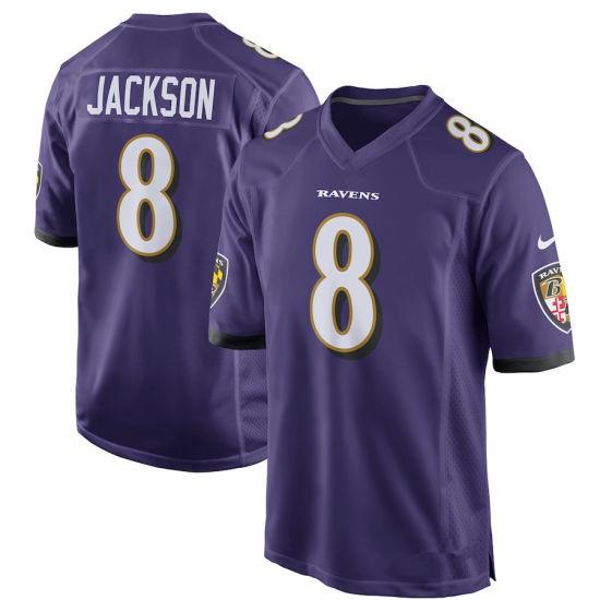 3b07d7a3 China Men Women Youth Ravens Jerseys 8 Lamar Jackson Football ...
