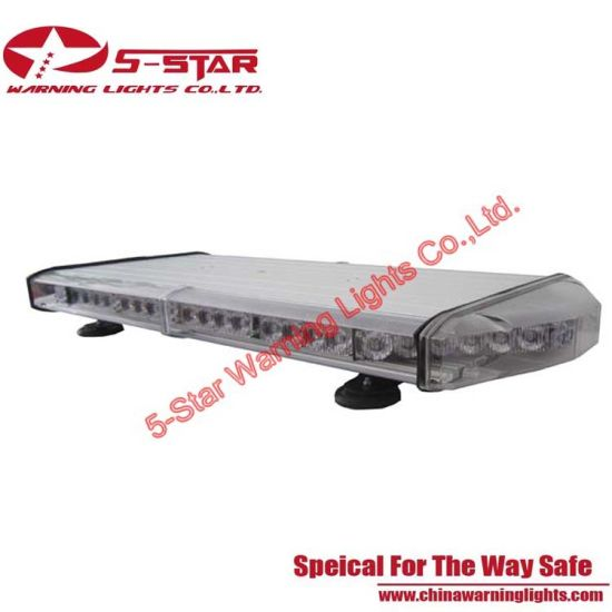 Super Bright Aluminum Amber Police LED Mini Light Bar pictures & photos