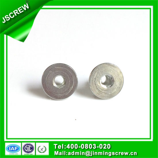 Socket Flat Head Left Thread Insert Nut pictures & photos