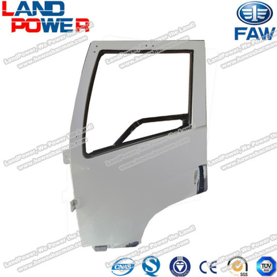 FAW Jiefang Truck Parts Original Truck White Door Assembly for FAW Truck with SGS Certification and Competive Price pictures & photos