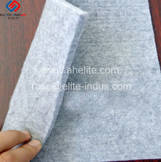 Road Construction Materials Short Fiber PP High Strength Geotextile pictures & photos