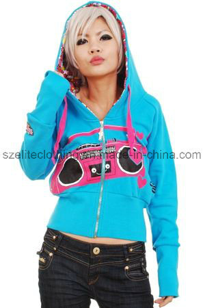 Loose Style Fashion Woman Hoodie (ELTHSJ-440) pictures & photos
