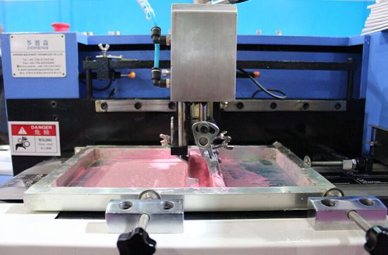 Automatic Multi-Colors Label-Ribbon Printing Machine (TS-150) pictures & photos