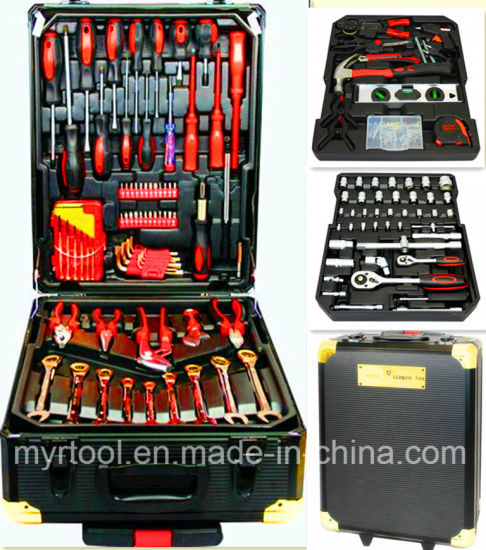 186PCS Swiss Kraft Trolley Household Tool Kit (FY186A-G-1) pictures & photos