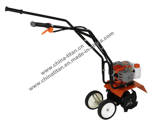 Hand Push Grass Trimmer with Wheels