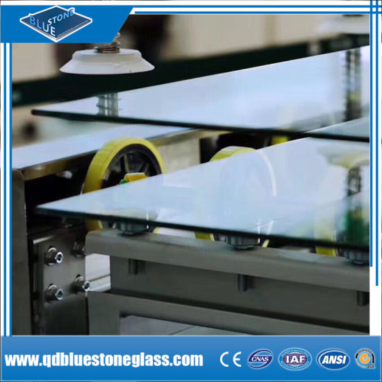 3+0.38+3mm Clear Laminated Glass for Building Windows with Own Factory